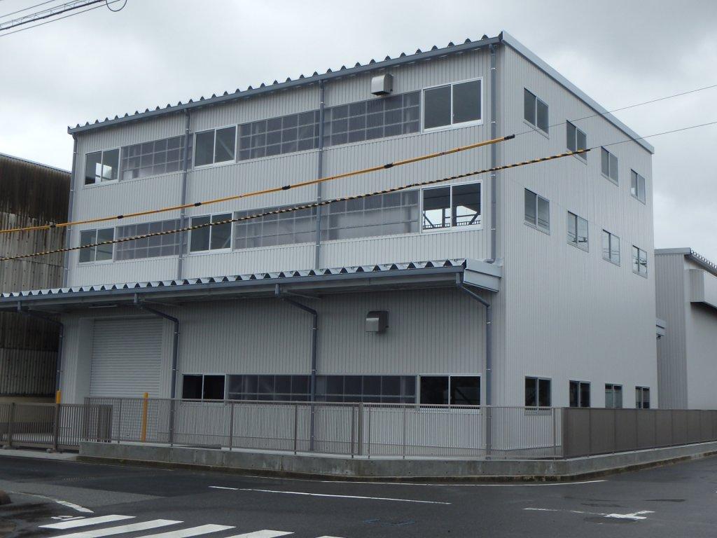 吉谷機械製作所倉庫増築工事