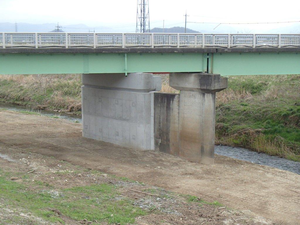 県道鳥取河原線(津浪橋)耐震補強工事(交付金)(26経済対策)