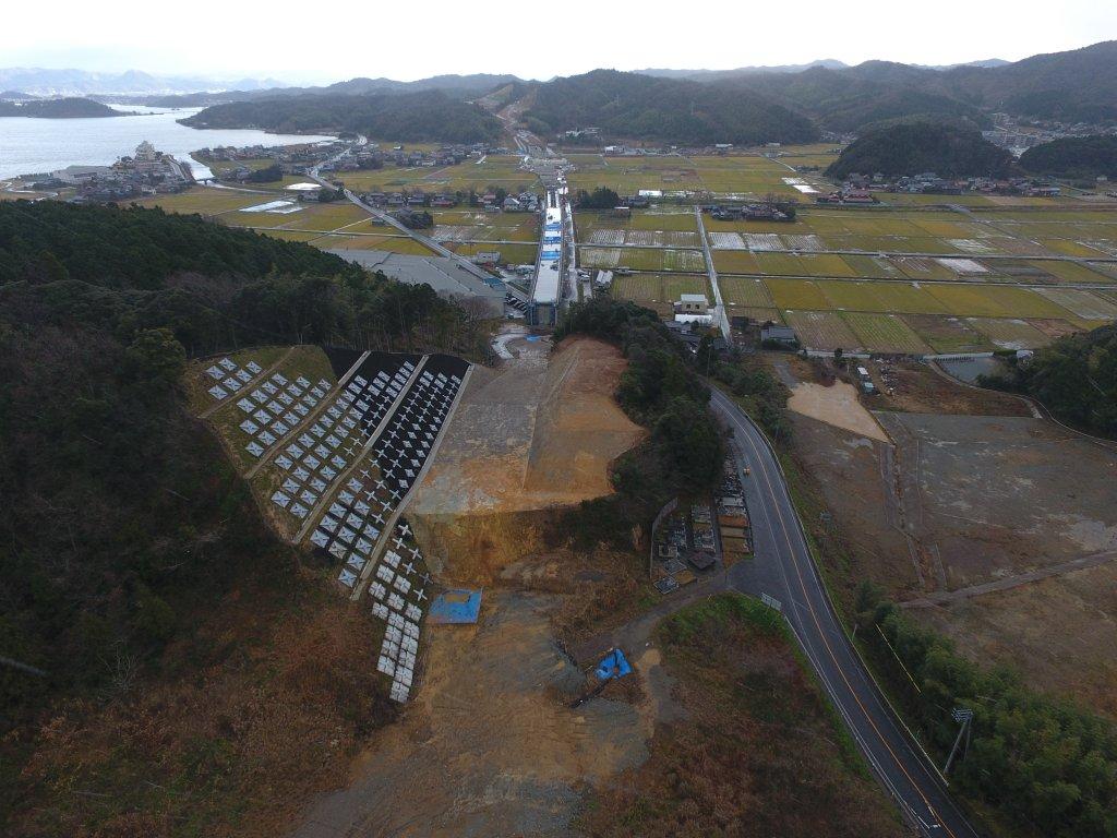 鳥取西道路金沢第3改良工事