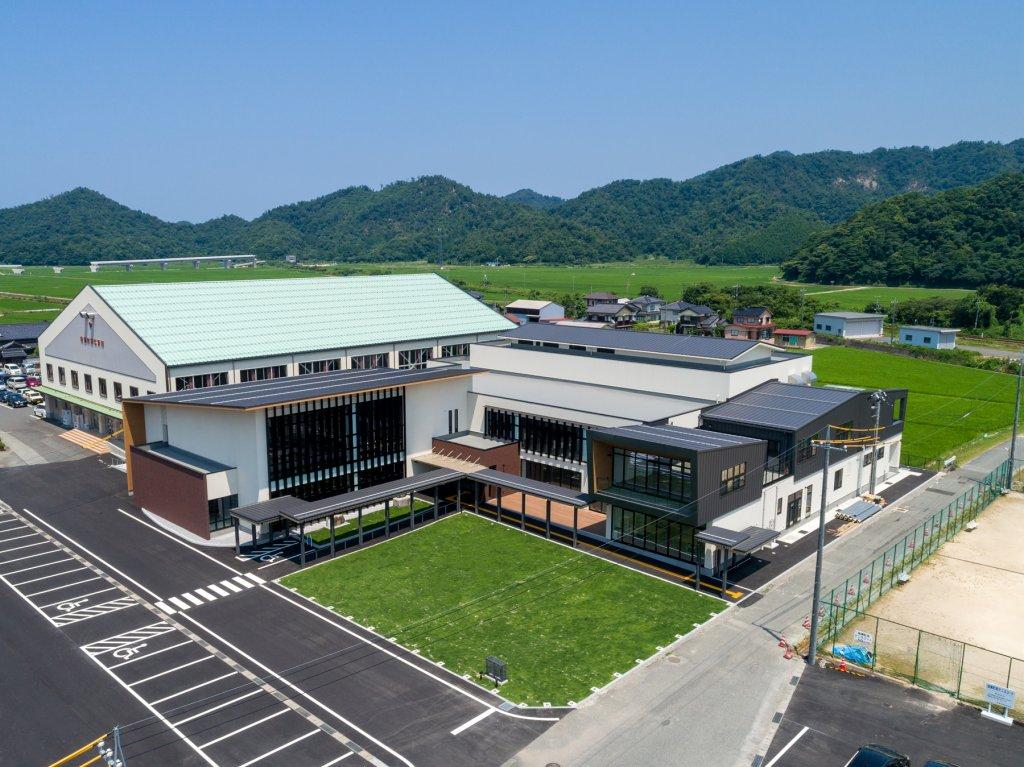 岩美町中央公民館・図書館整備工事